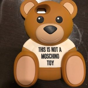 Moschino phone case- fits iPhone 6 and iPhone 7